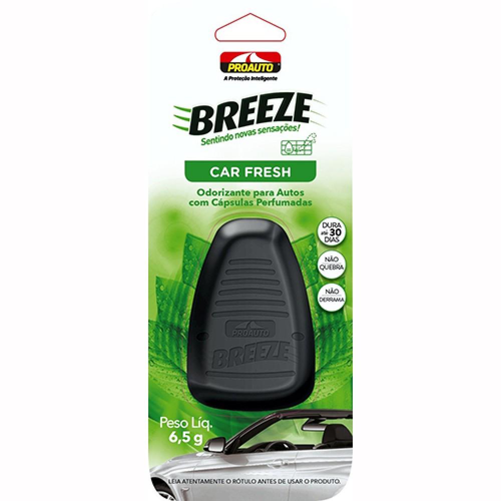 Odorizante Breeze Car Fresh para Veículos 6,5g - Proauto