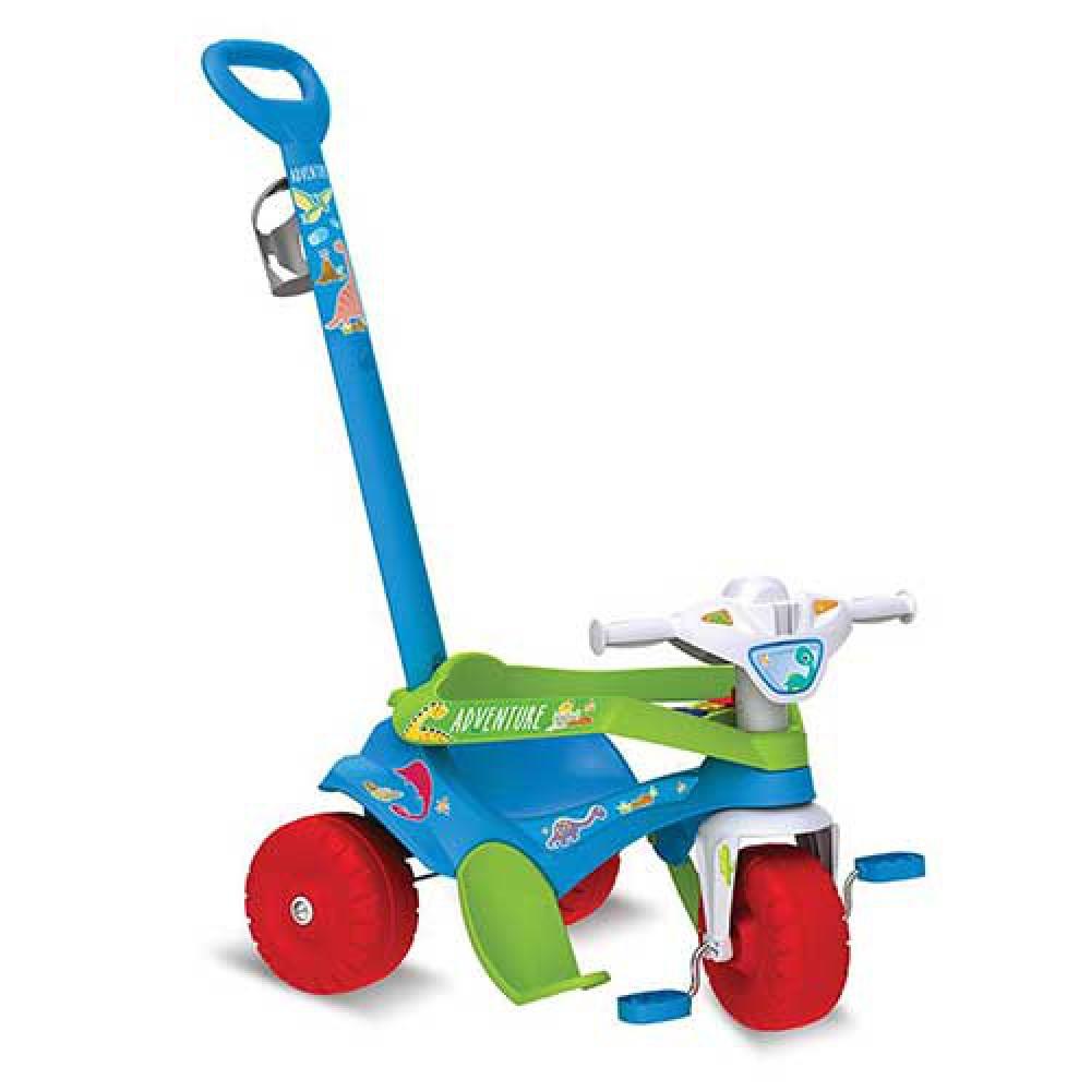 Triciclo Motoka para Passeio & Pedal Adventure Azul - Brinquedos Bandeirante