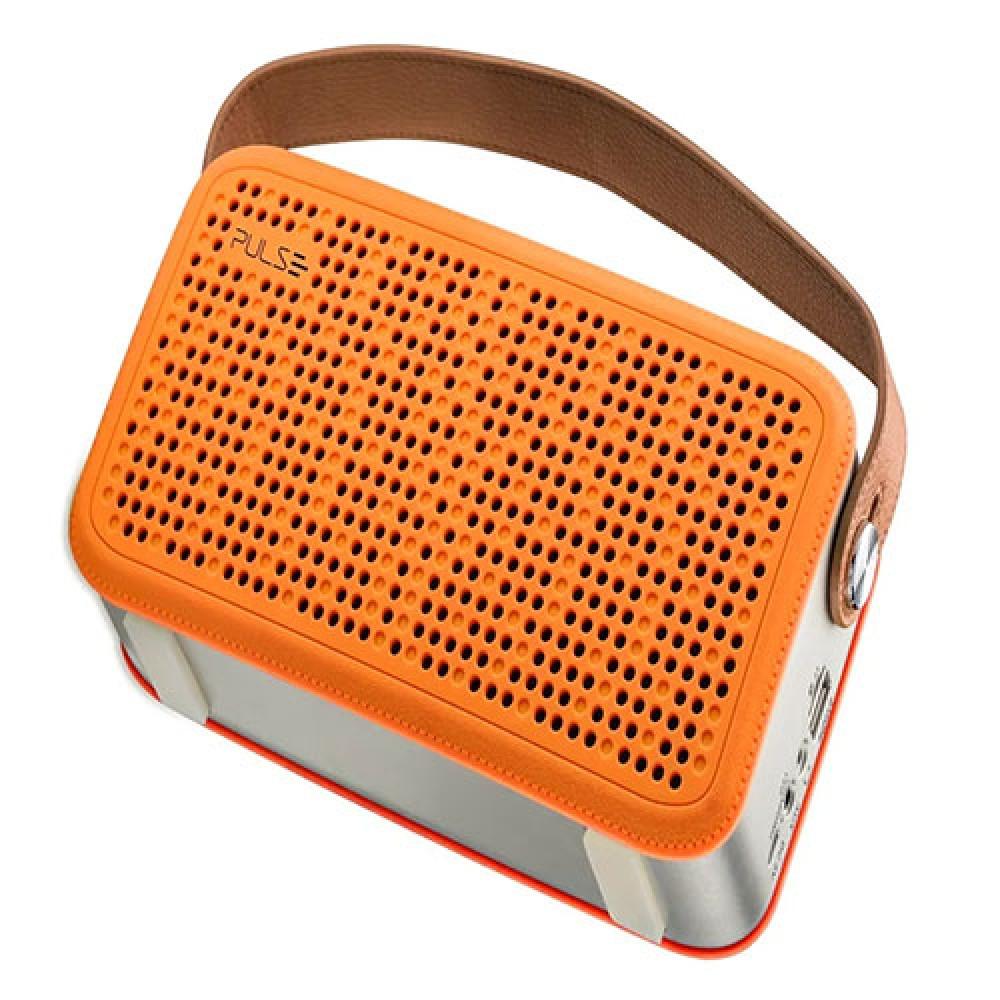 Caixa de Som Bluetooth Hands Free Pulse Laranja - Multilaser