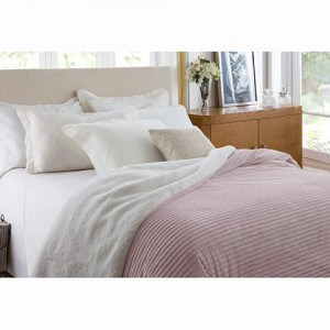 Edredom Casal Home Design 100% Poliéster Boreal Rosa Antigo - Corttex