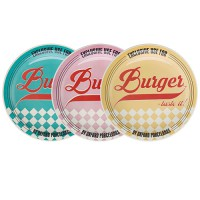 Conjunto de Pratos Daily Burger 3 pçs - Oxford